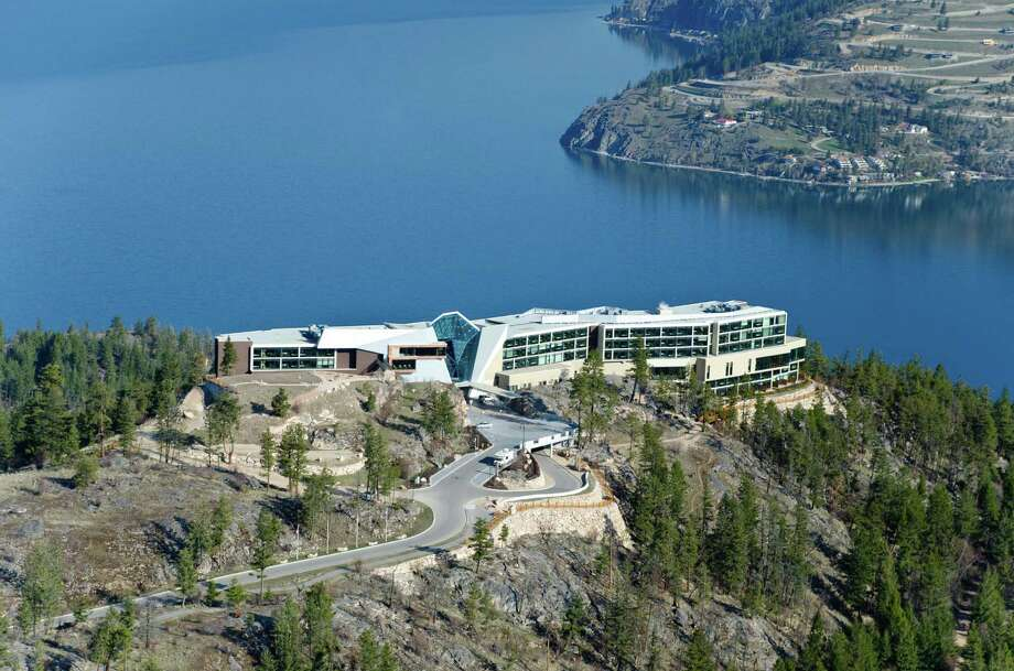Sparkling Hill Resort in Vernon, British Columbia, overlooks Lake Okanagan. Trails encourage guests to explore wildlife and mesmerizing views. Photo: Sparkling Hill Resort  / BIDEN