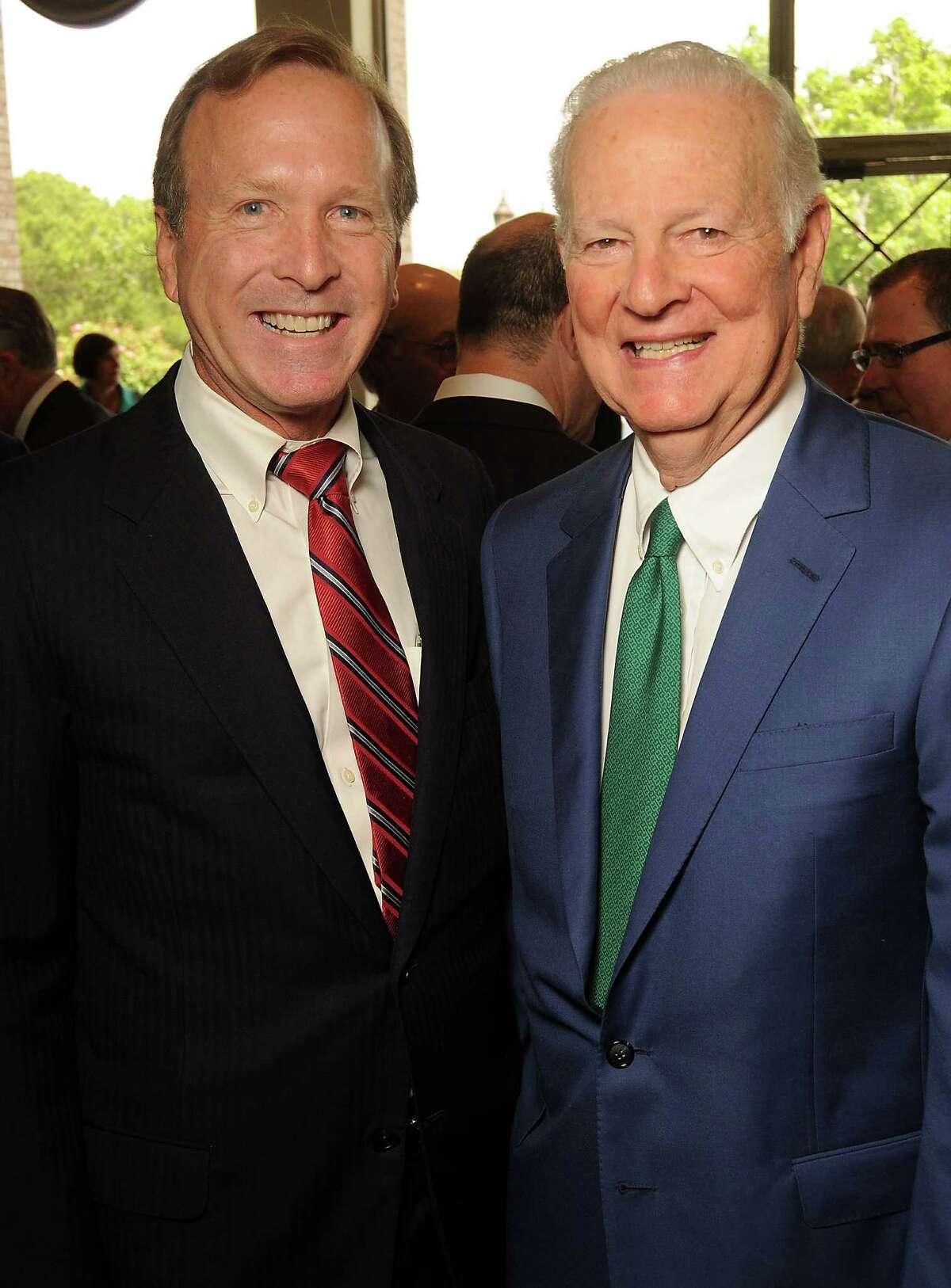 Neil Bush and James Baker III