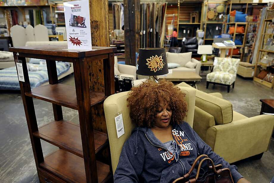 Karen Glasgow of Oakland says she usually shops at World Market at least once a week.  Cost Plus World Market of Oakland was sold to Bed Bath & Beyond for $500 million Wednesday May 9th, 2012. Photo: Michael Short, Special To The Chronicle