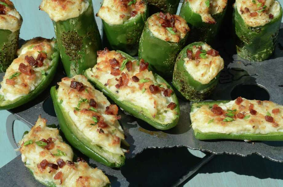 "Crab Stuffed Jalapeños from  ""Jon Bonnell's Texas Favorites"" by Jon Bonnell (Gibbs Smith) Photo: Courtesy"