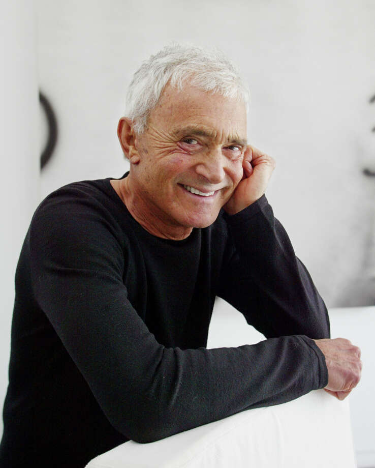 Vidal Sassoon (in a 2003 photo) was known for creating wash-and-wear haircuts in the 1960s that freed women from endless teasing and hairspray. Photo: DAMIAN DOVARGANES / AP2003