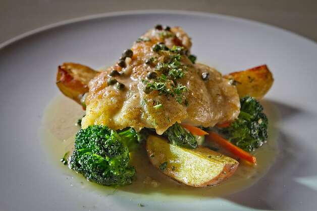 The fresh Rock Cod at Specchio Restaurant in San Francisco , Calif., is seen on Thursday, May 3rd, 2012. Photo: John Storey