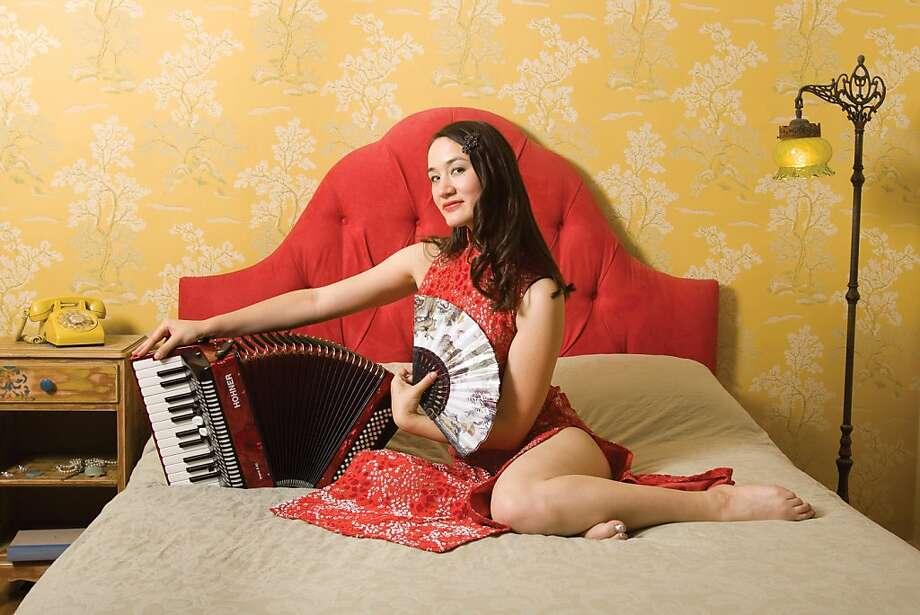 Jessica Fichot Photo: Andy Sheng