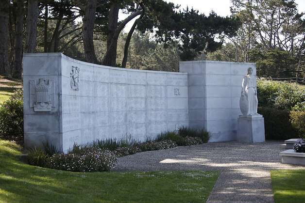 The World War II Memorial, located in the Presidio in San Francisco, Calif. Friday, May 4th, 2012. Photo: Jill Schneider, The Chronicle