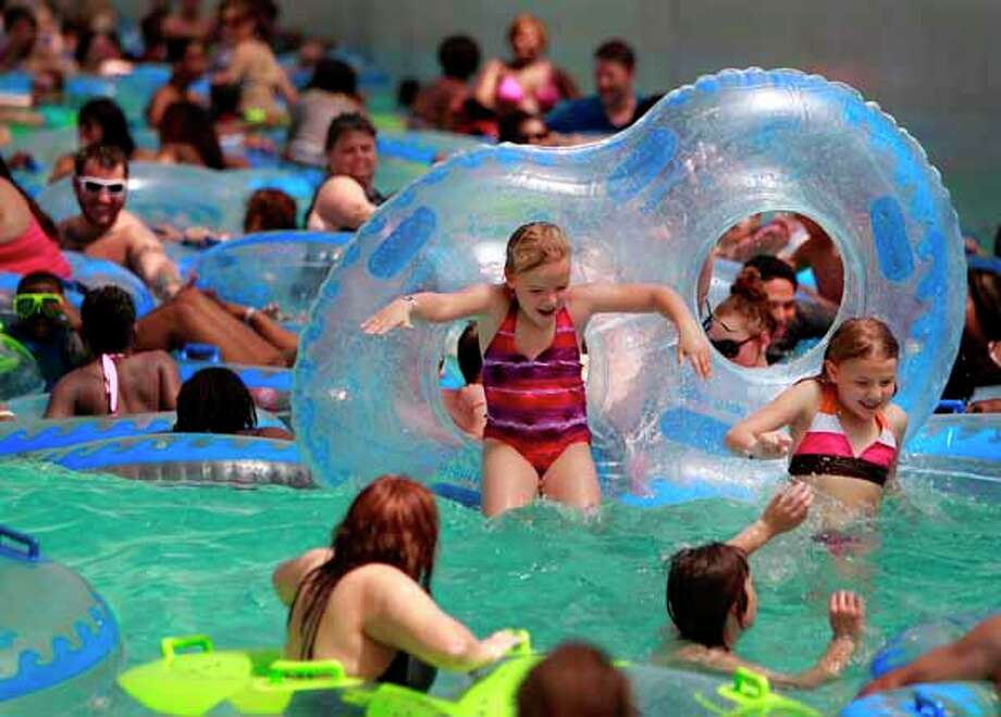 Schlitterbahn:The water park is open during weekends and select holidays starting this Saturday, March 1 through April 13, 10 a.m.-5 p.m.; 2026 Lockheed Street, Galveston; 409-770-WAVE (9283); schlitterbahn.com/gal Photo: Mayra Beltran, . / Houston Chronicle