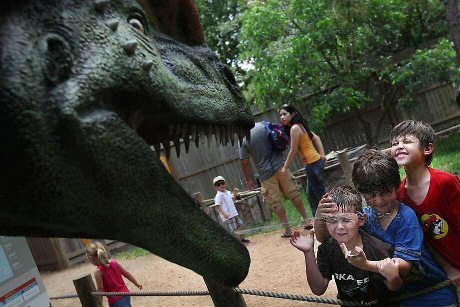 The Dilophosaurus is designated as the state dinosaur. Goes into effect: June 30, 2019 Photo: Mayra Beltran, Houston Chronicle