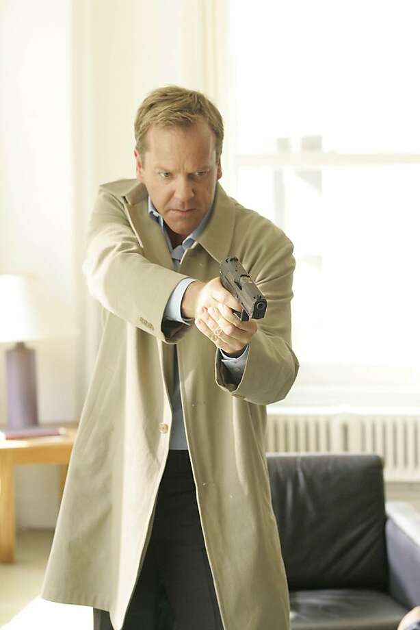 24:  Kiefer Sutherland as Jack Bauer in Season Seven of 24 on FOX. Photo: Kelsey McNeal, FOX