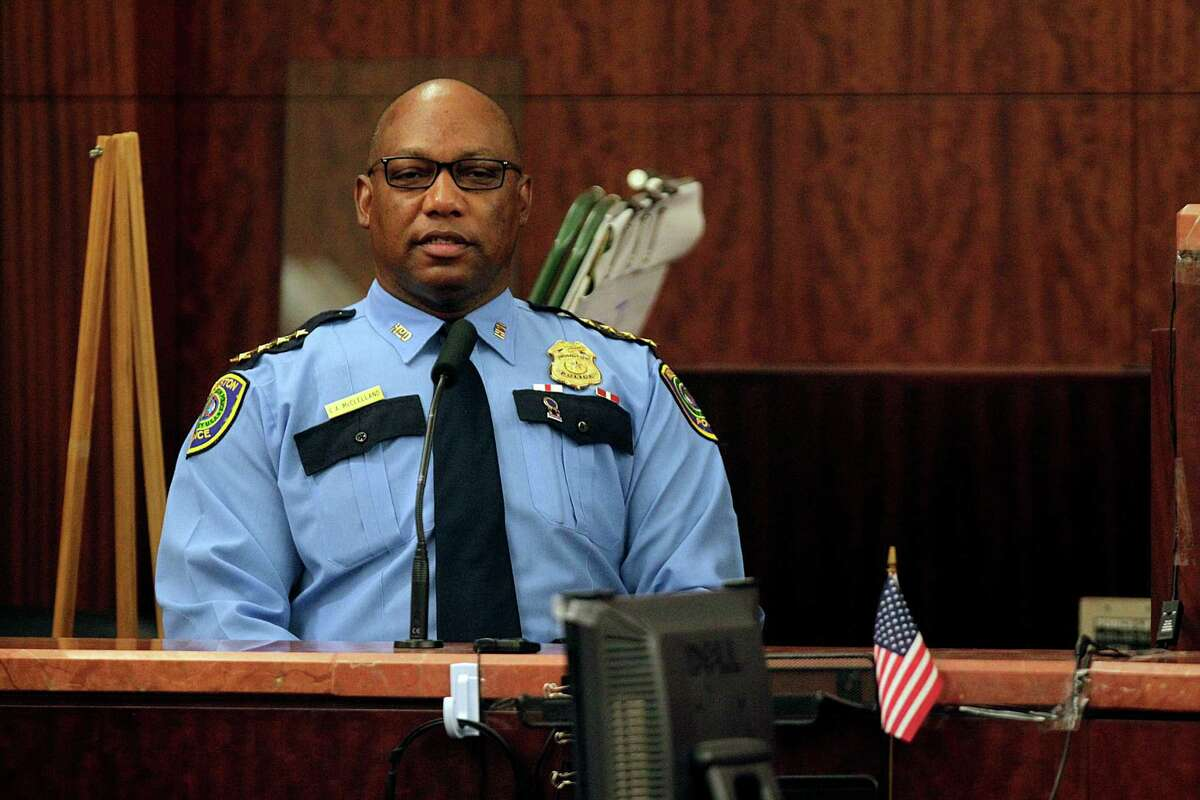 Chief Charles McClelland pledged from the start to keep the public's trust by punishing officers who break the law.