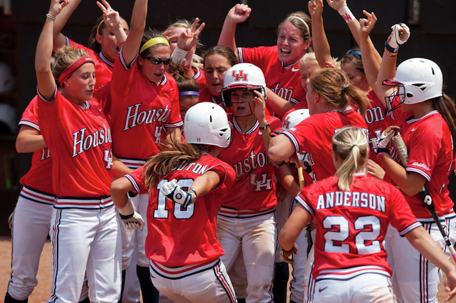 Haley Outon gave a taste of things to come when she delighted her teammates by homering to give UH a regional title last season. Outon increased her home run total from five in 2011 to 20 this season.