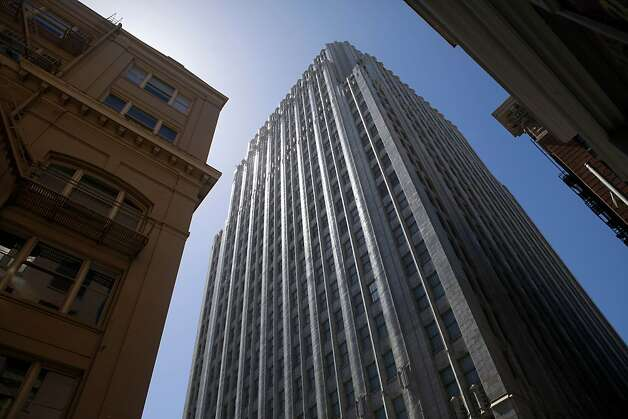 The Pacific Telephone Building at 140 Montgomery St. in San Francisco  will be the new home for Yelp through 2020. Photo: Sean Culligan, The Chronicle