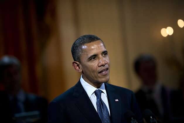 President Obama said his position evolved through discussions with family, friends and advisers. Photo: Brendan Smialowski, AFP/Getty Images
