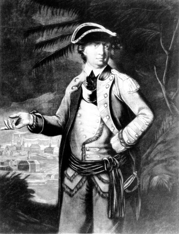 This undated sketch portrait of Gen. Benedict Arnold by an unknown artist was provided by the Library of Congress. While most Americans know Arnold as the man who betrayed his nation by trying to turn over the American fortifications at West Point to the British, then joining the redcoats when the plot was uncovered, his heroic actions at the Revolutionary War's Battles of Saratoga are detailed in a new exhibit opening Thursday, May 10, 2012 at Saratoga National Historical Park. (AP Photo/Library of Congress)