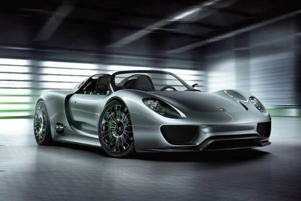 No. 10: Porsche 918 Spyder plug-inWhere should we begin with this car? It's amazing, and it's a hybrid. However, the $845,000 price tag makes it a dream for most of us. Porsche is also only making 918 of these too so it will be tough to get. (Porsche)