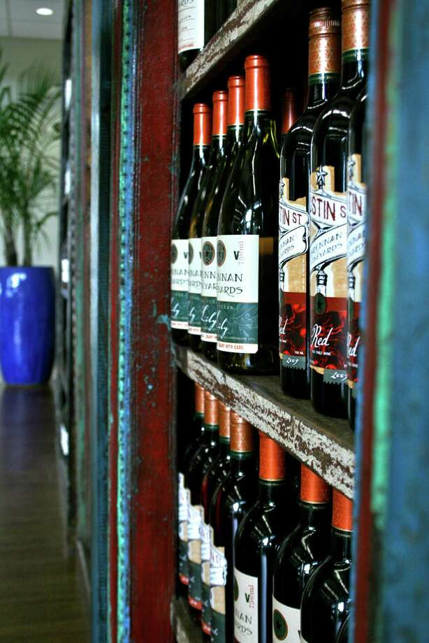 The tasting room at 4.0 Cellars in Fredericksburg. Photo: Courtesy