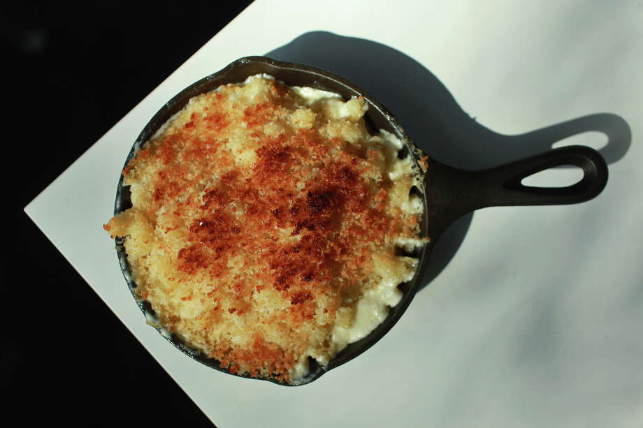 "You can try Feast Restaurant's ""Jack Cheese Mac"" Tuesday through Thursday until 10 p.m. and Friday and Saturday until 11 p.m.Website: feastsa.com Photo: Lisa Krantz, SAN ANTONIO EXPRESS-NEWS / SAN ANTONIO EXPRESS-NEWS"