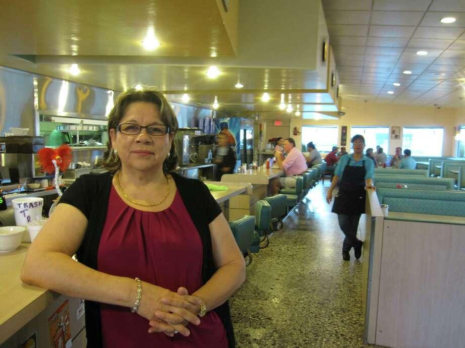 Ana Lizama, owner of Thousand Oaks Cafe. Photo: Jessica Elizarraras