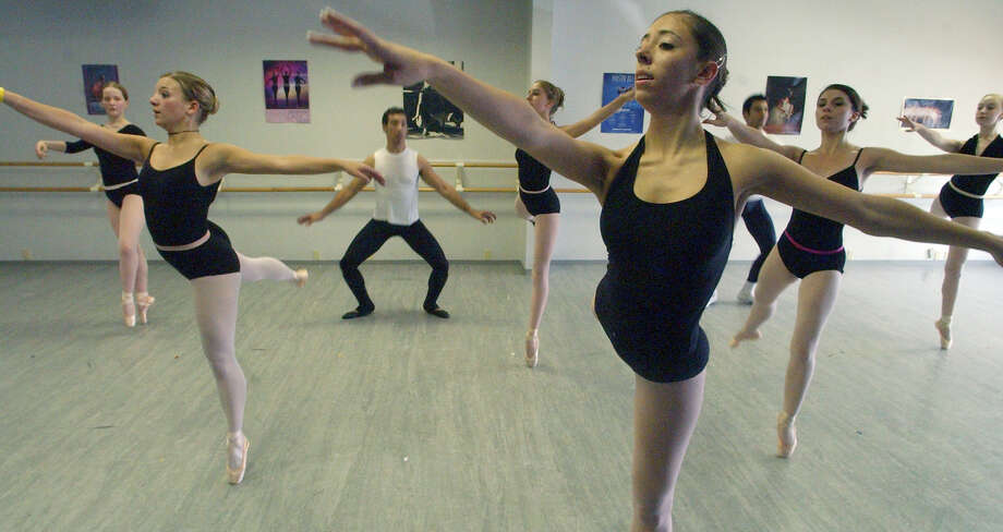 FOR SALIFE -  Ballet Conservatory of South Texas dancers rehearse Saturday May 14, 2005 at Ballet Arts Studio for their first performance to be held Sunday June 12, 2005 at the Carver Community Cultural Center. FOR MARTIN STORY.  PHOTO BY EDWARD A. ORNELAS/STAFF Photo: EDWARD ORNELAS, SAN ANTONIO EXPRESS-NEWS / SAN ANTONIO EXPRESS-NEWS