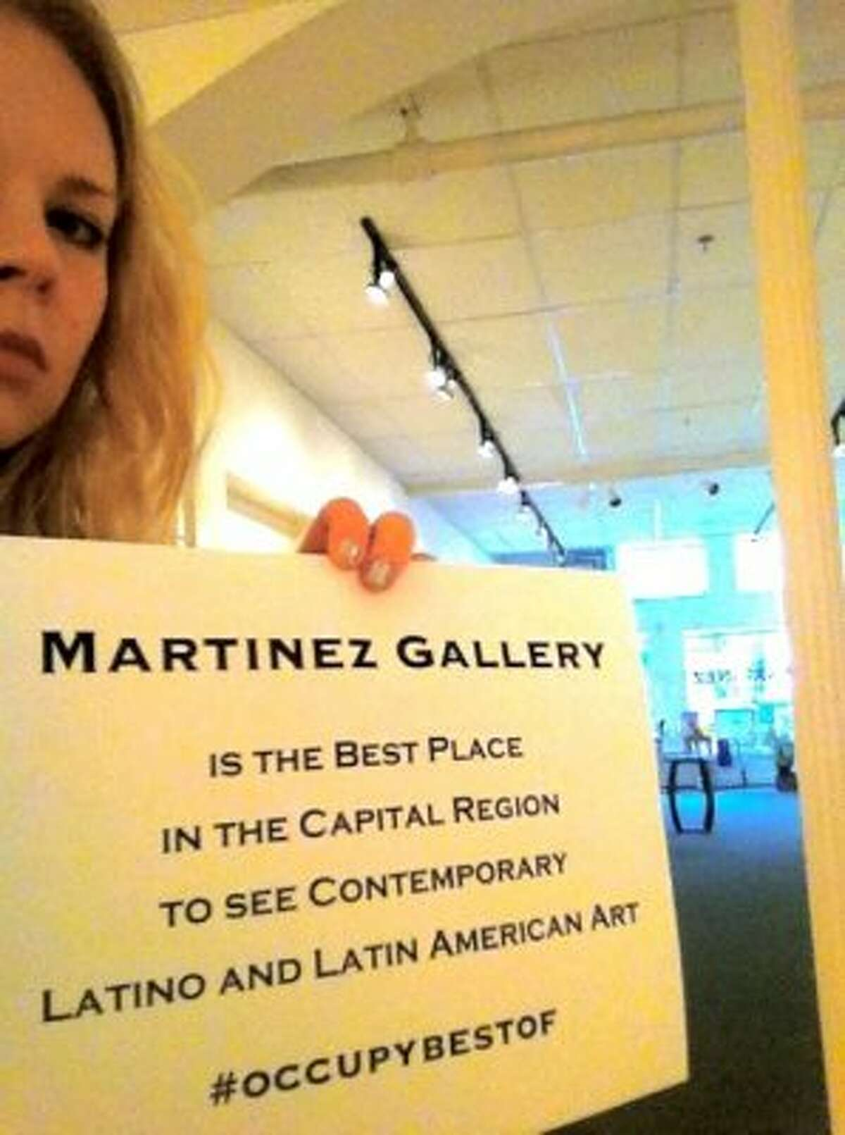 Grace Tatara submitted this photo from the Martinez Gallery in Troy, her choice as the best place in the Capital Region to see contemporary Latino and Latin American art.