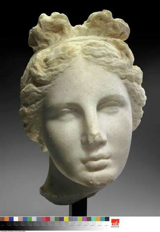 "The famed ""Bartlett Head"" is one of the best known depictions of Aphrodite. Photo: Museum Of Fine Arts, Boston / Photography © Museum of Fine Arts, Boston. All Rights Reserved."