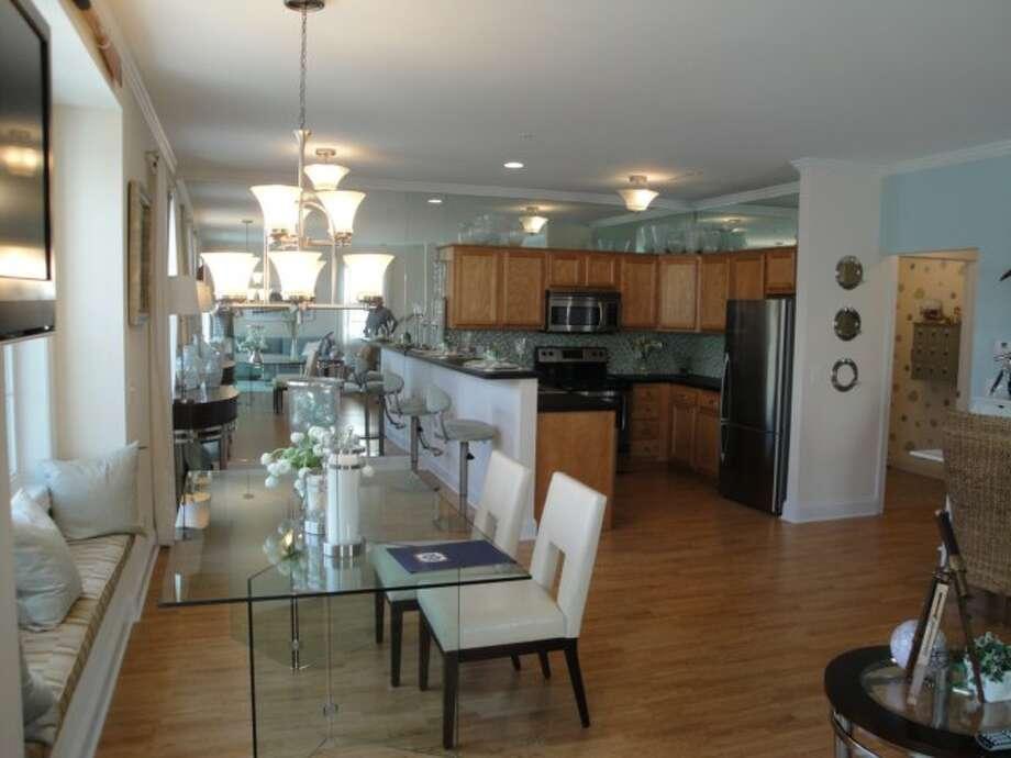Admiral?s Walk condominium complex on Van Schaick Island in Cohoes.