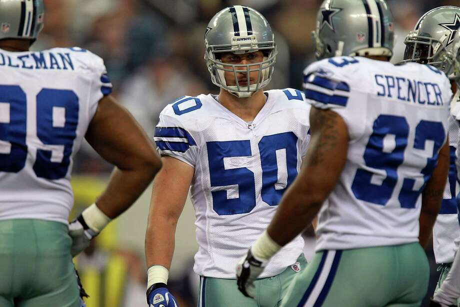 "Cowboys linebacker Sean Lee (50) says that ""if there is something that needs to be addressed, I have no problem addressing it."" Photo: Ronald Martinez, Getty Images / 2011 Getty Images"