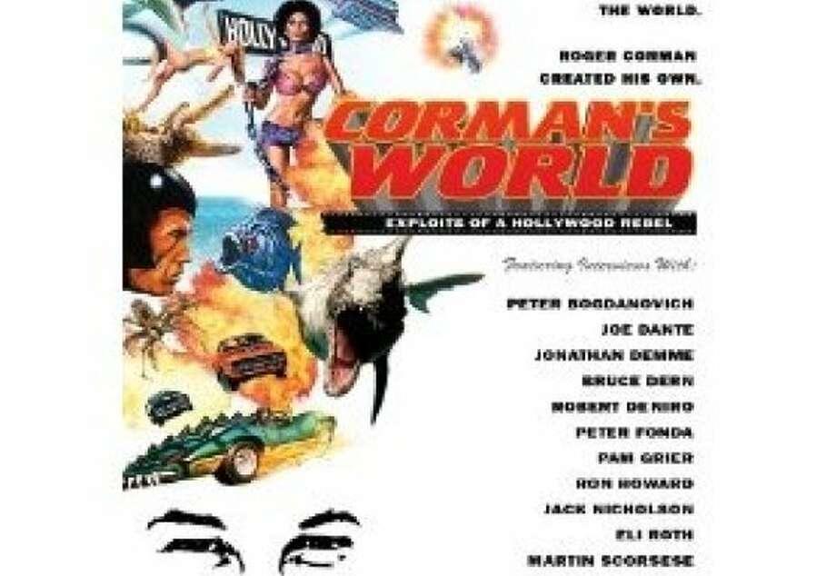 dvd cover: ROGER CORMAN: EXPLOITS OF A HOLLYWOOD REBEL Photo: Anchor Bay, Amazon.com