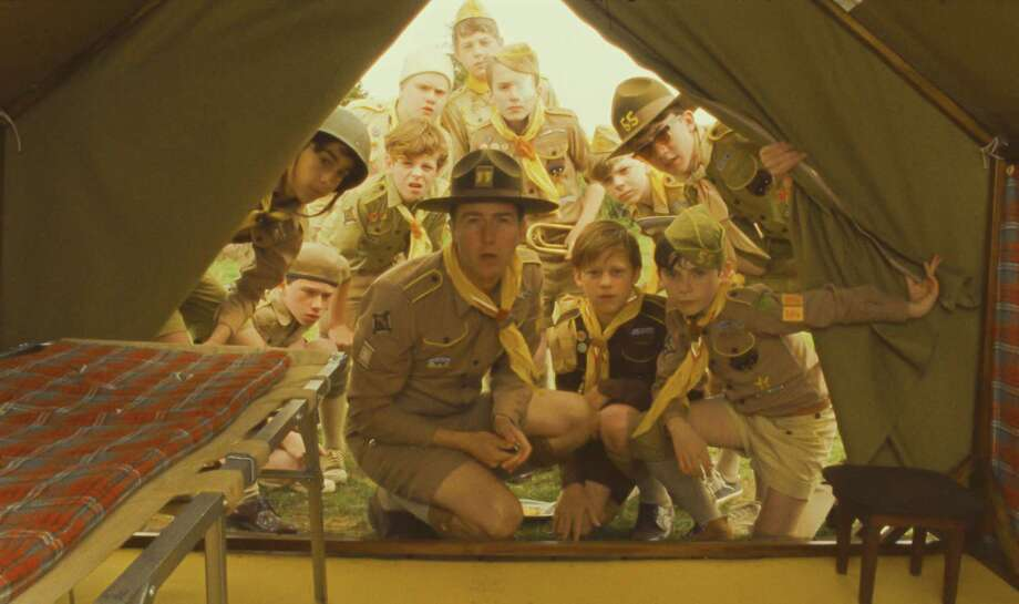 "Edward Norton, center, stars in ""Moonrise Kingdom."" Photo: Courtesy Of Focus Features"