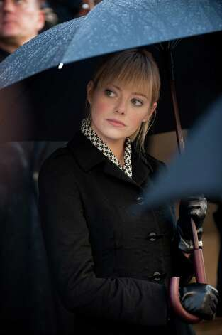 "Emma Stone stars in Columbia Pictures' ""The Amazing Spider-Man,"" also starring Andrew Garfield. Photo: Jaimie Trueblood / © 2011 Columbia Pictures Industries, Inc.  All Rights Reserved. **ALL IMAGES ARE PROPERTY OF SONY PICTURES ENTERTAINMENT INC. FO"