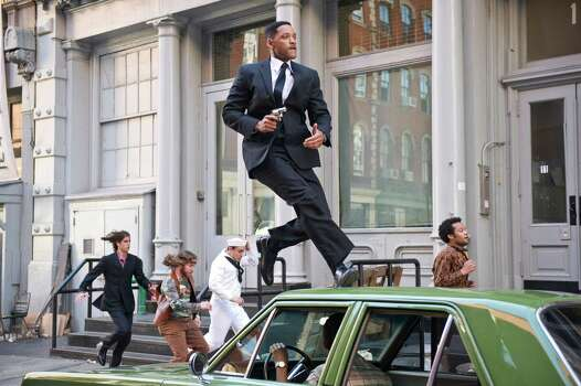 Will Smith stars in Columbia Pictures' MEN IN BLACK 3. Photo: Wilson Webb / © 2012 Columbia Pictures Industries, Inc.  All rights reserved.