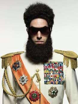 """Sacha Baron Cohen in """"The Dictator."""" (Courtesy Mark Seliger/MCT) Photo: HANDOUT / MCT"""