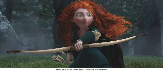 """BRAVE""  Merida (voice by Kelly Macdonald)  Disney/Pixar.  All Rights Reserved. Photo: Pixar / ©Disney/Pixar.  All Rights Reserved."