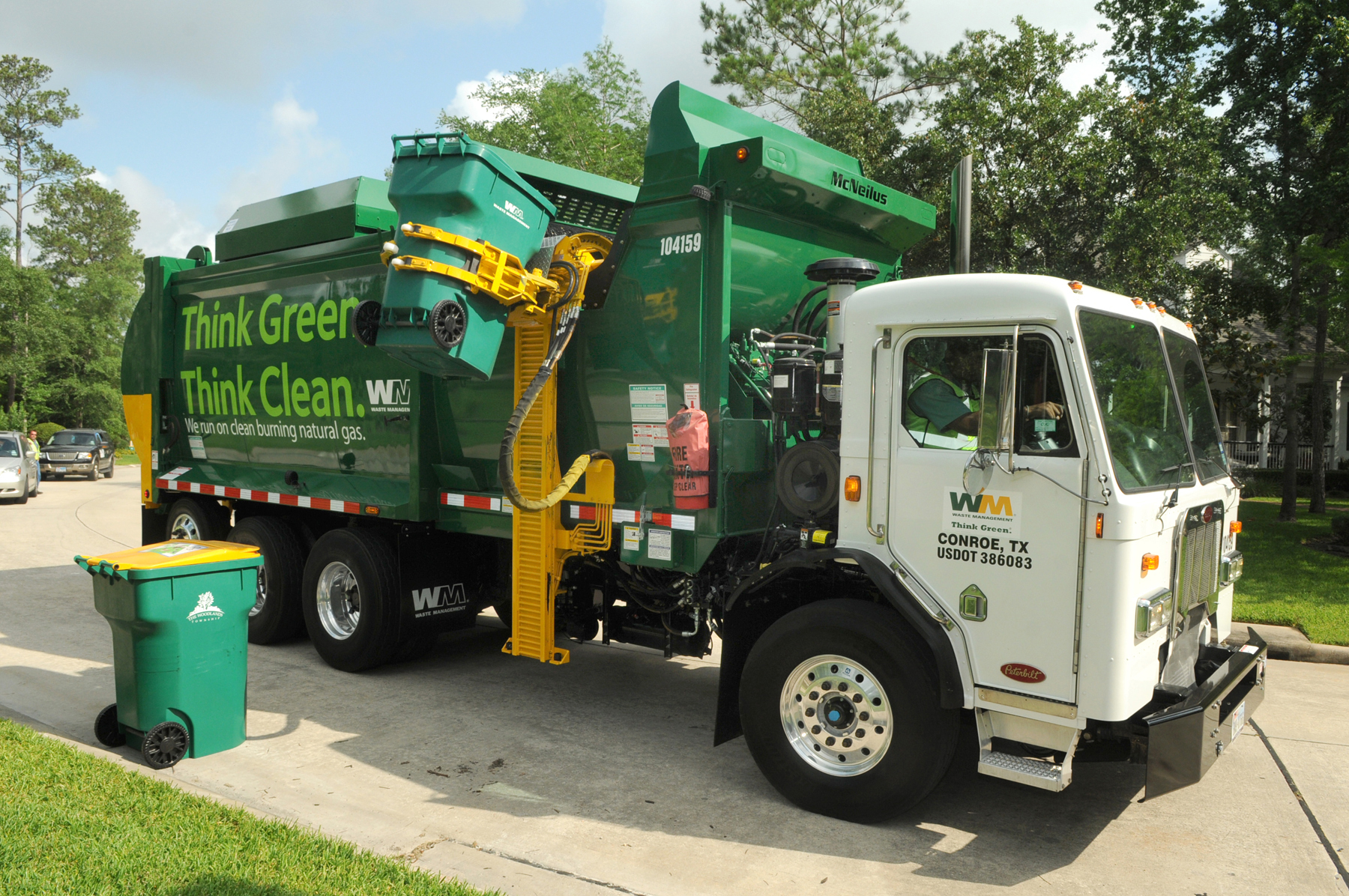 Waste Management Adding Cleaner Natural Gas Vehicles
