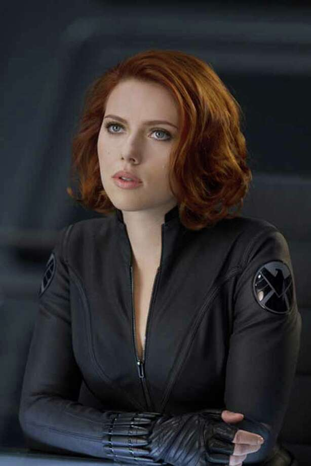Hottest Avenger without any super powers: Black Widow Photo: .