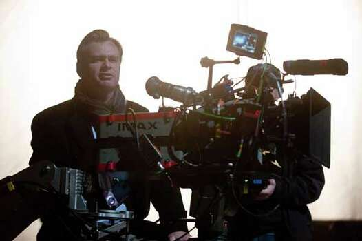 Director CHRISTOPHER NOLAN during the filming of Warner Bros. Pictures��� and Legendary Pictures��� action thriller ���THE DARK KNIGHT RISES,��� a Warner Bros. Pictures release. Photo: Ron Phillips, . / © 2012 Warner Bros. Entertainment Inc. and Legendary Pictures Funding, LLC