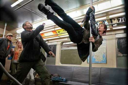 """Andrew Garfield stars as Spider-Man/Peter Parker in Columbia Pictures' """"The Amazing Spider-Man,"""" also starring Emma Stone. Photo: Jaimie Trueblood, . / © 2012 Columbia Pictures Industries, Inc.  All Rights Reserved. **ALL IMAGES ARE PROPERTY OF SONY PICTURES ENTERTAINMENT INC. F"""