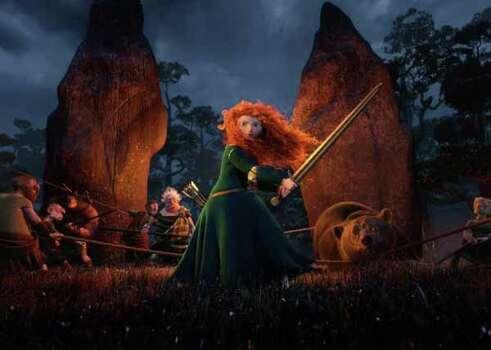 "Scene from ""Brave"" released by Disney-Pixar. Photo: ."