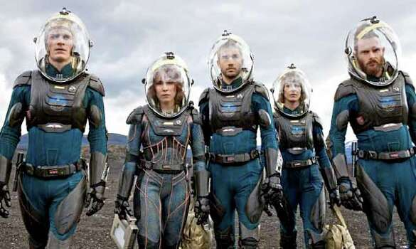 """""""Prometheus  opens June 8. The cast includes Patrick Wilson, Noomi Rapace and Michael Fassbender. Photo: ."""