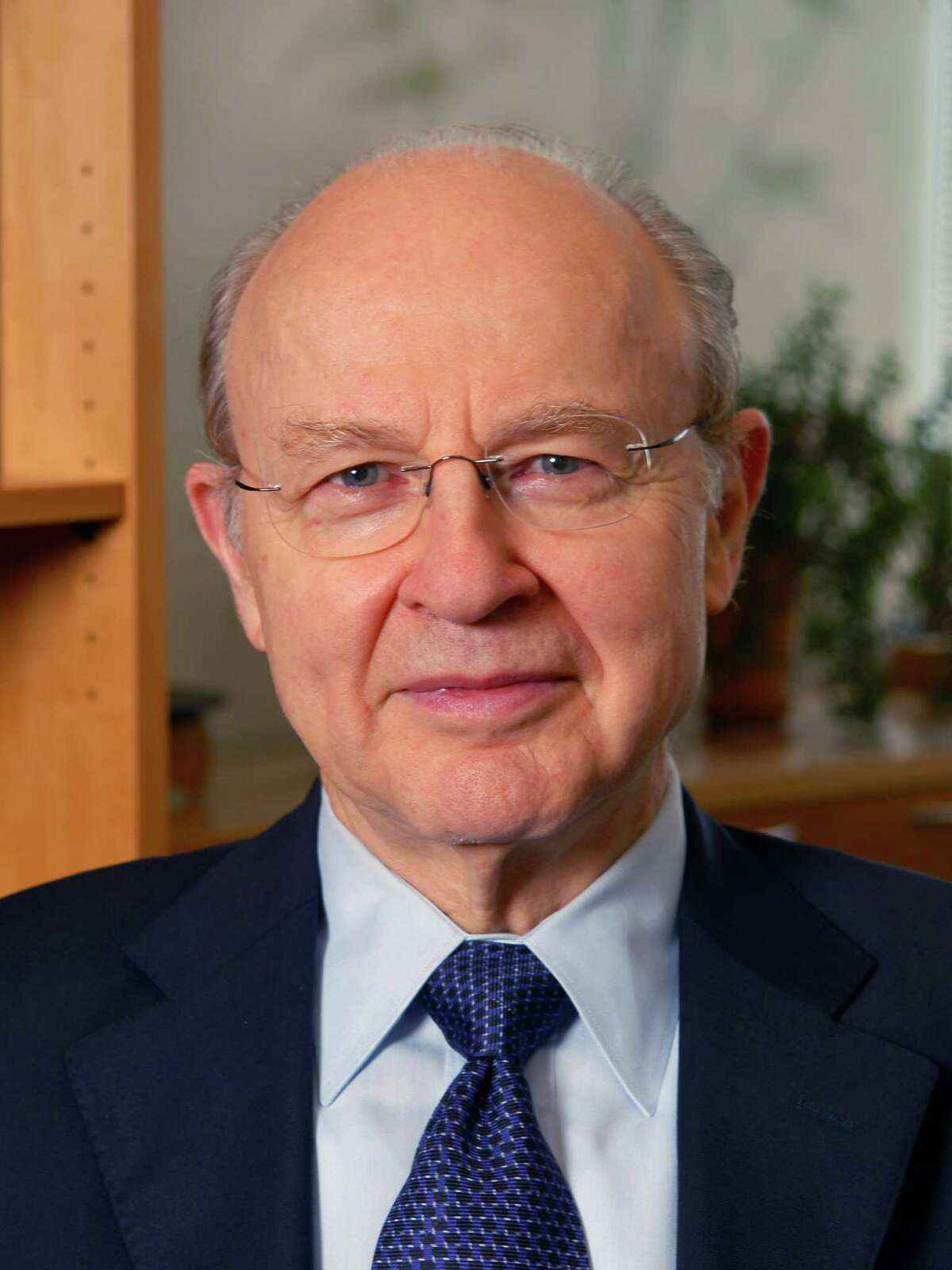 Robert G. Roeder, Ph.D., a pioneer in the field of gene transcription in animal cells, and winner of the 2012 Albany Medical Center Prize.