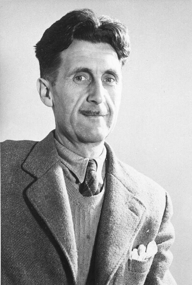 "George Orwell's ""Nineteen Eighty-Four"" saw a dystopian society monitored by Big Brother. President Obama's ""Forward"" slogan is fraught with Big Brotherism. Photo: Associated Press File Photo / AP"