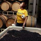 Square 33: At August West's unassuming warehouse, bottles from some of the state's most esteemed vineyards are being made.