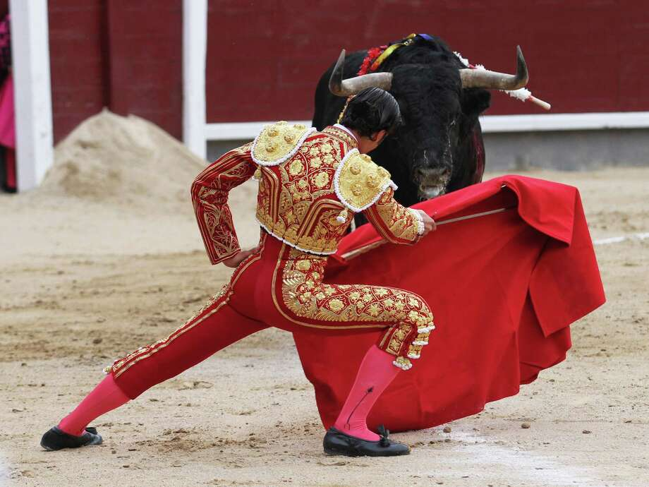 10. Seguin MatadorsPlaying football is a little like fighting bulls, but without the sacrifice of a live animal and the risk of being gored by it. Real-life matadors roam around an arena to the cheers of adoring fans, much like Seguin players do on Friday nights. But instead of seeing red, the Matadors' fans see gold and black. Photo: ALBERTO SIMON, AFP/Getty Images / AFP
