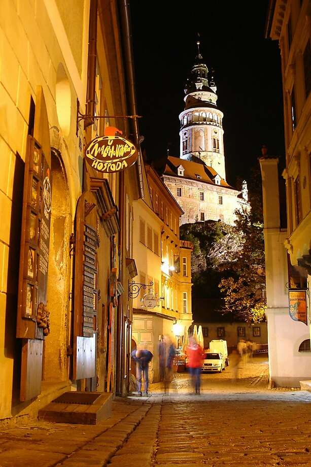 Evenings in Cesk  Krumlov are for dining, drinking, and enjoying life. Photo: Cameron Hewitt, RickSteves.com