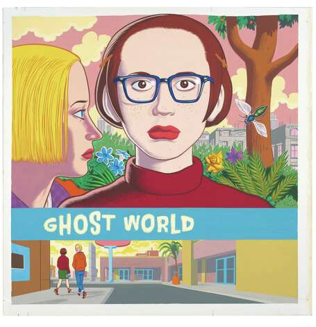 "A detail from the cover of Daniel Clowes' ""Ghost World."" Photo: Copyright Daniel Clowes"