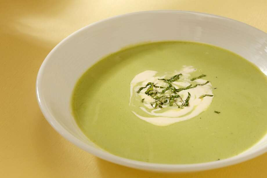 English Pea Soup with Lemon as seen in San Francisco, California on Wednesday, May 2, 2012. Food styled by Amanda Gold. Photo: Craig Lee, Special To The Chronicle