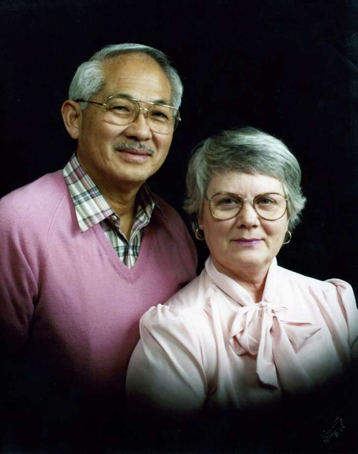 Neal and Billie Tsukifuji.  1985 photograph.
