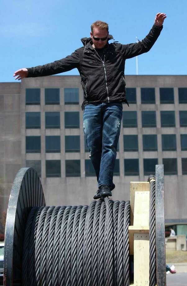 Falls tightrope walk wins TV role - Times Union
