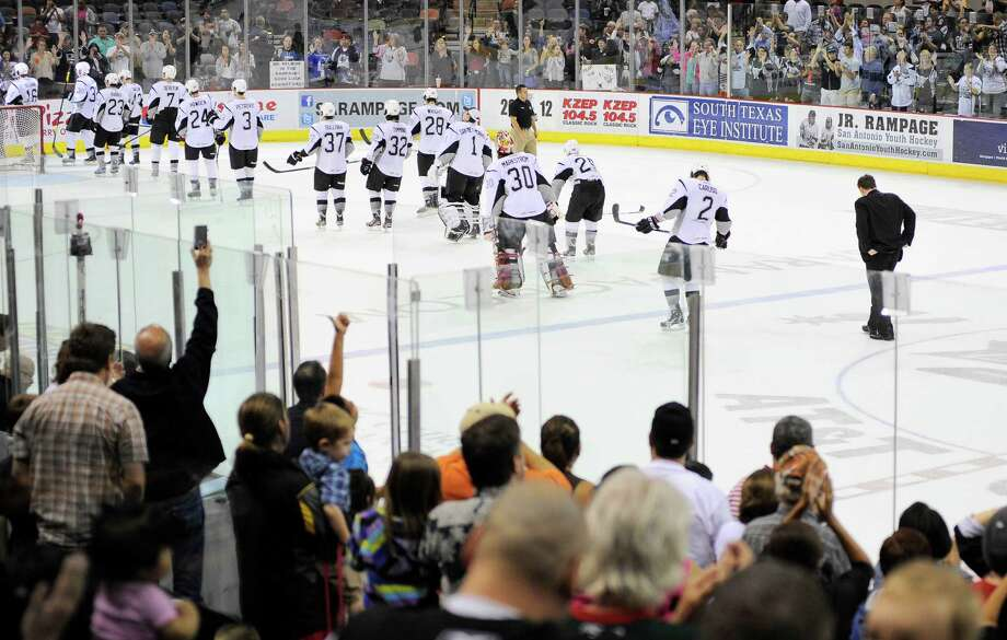 In 2011-12, a franchise-record 271,083 fans came to the AT&T Center to watch the Rampage, who enjoyed their best season by advancing to the conference semifinals for the first time. Photo: Darren Abate, PRESSPHOTOINTL.COM / Darren Abate/pressphotointl.com