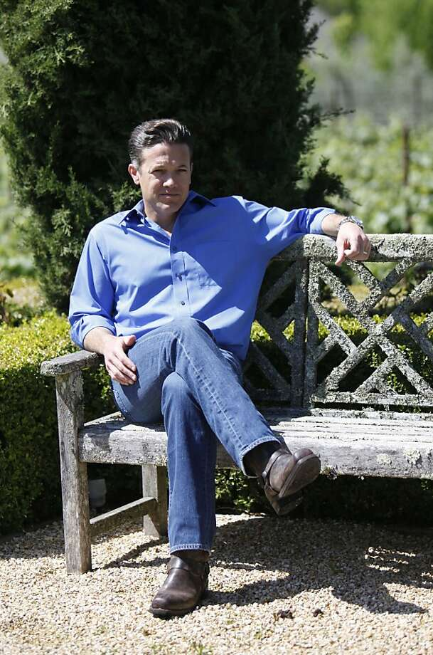 Jon Sebastiani, the creator of Fine Jerky, at his home in Sonoma, Calif. Friday, May 11th, 2012. Photo: Jill Schneider