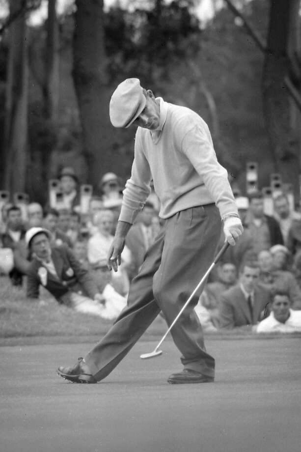 Jack Fleck was an obscure course pro when he won the National Open at Olympic. Photo: Bill Young, San Francisco Chronicle