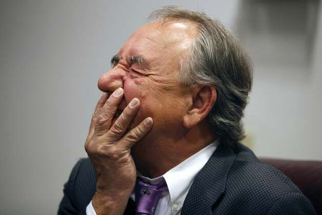 Will Durst, took part in a roundtable discussion Tuesday June 8, 2010 with three other Bay-Area comedians Tuesday June 8, 2010 that talked about their favorite movies that they will introduce 4th of July weekend at the Lolo SF Celebration on Comedy on screen festival. Photo: Lance Iversen, The Chronicle